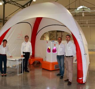 Stand Hut à Secours expo Paris